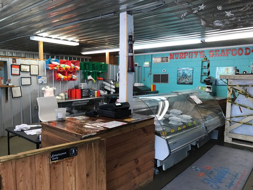 Murphy's Seafood & More: 44 W Dame Ave, Homerville, GA