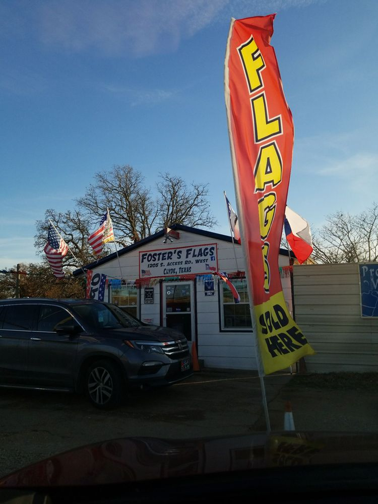 Foster's Flags: 1205 S Access Rd W, Clyde, TX