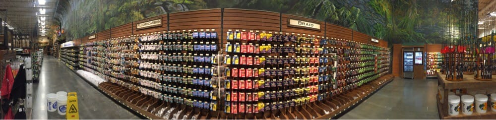 Fishing line selection yelp for Bass pro shop fishing line