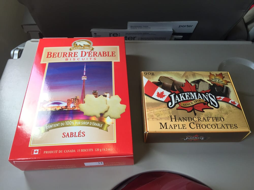 Maple Cookies and Chocolates (from duty free shop) - Yelp