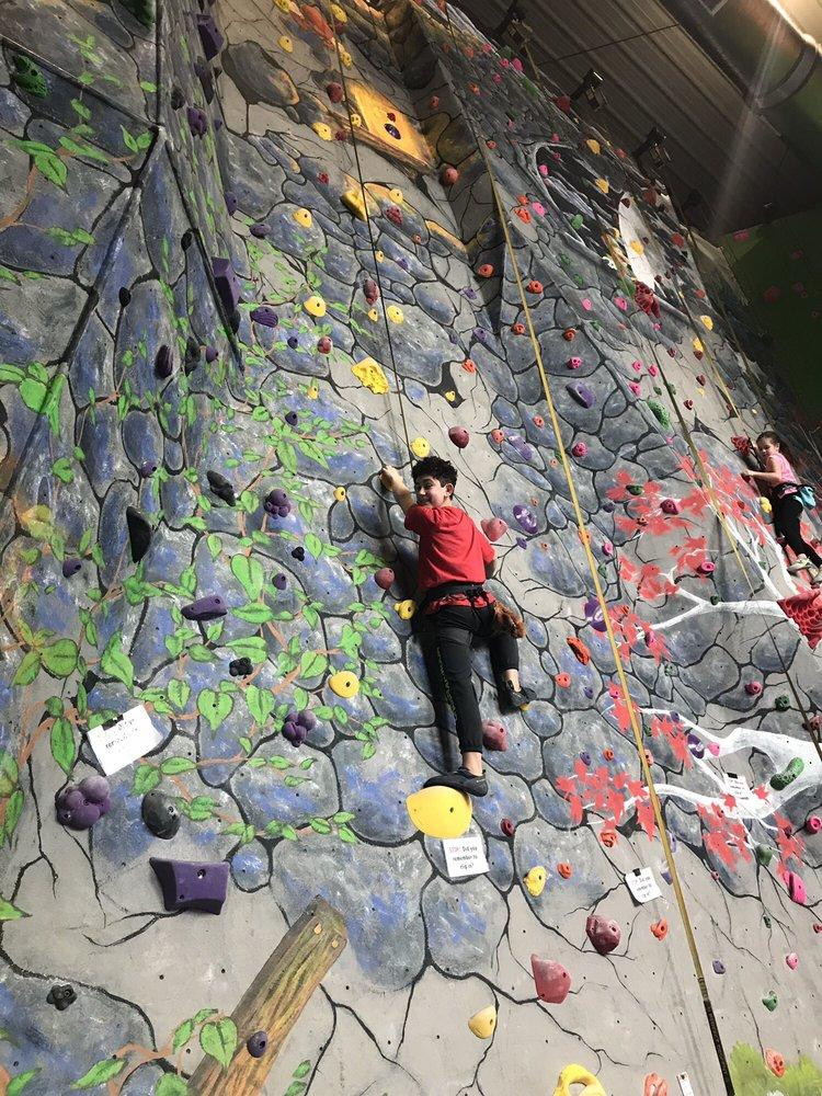 On The Rocks Climbing Gym: 8701 Leavitt Rd, Elyria, OH