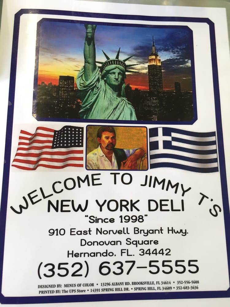 Jimmy T's New York Deli