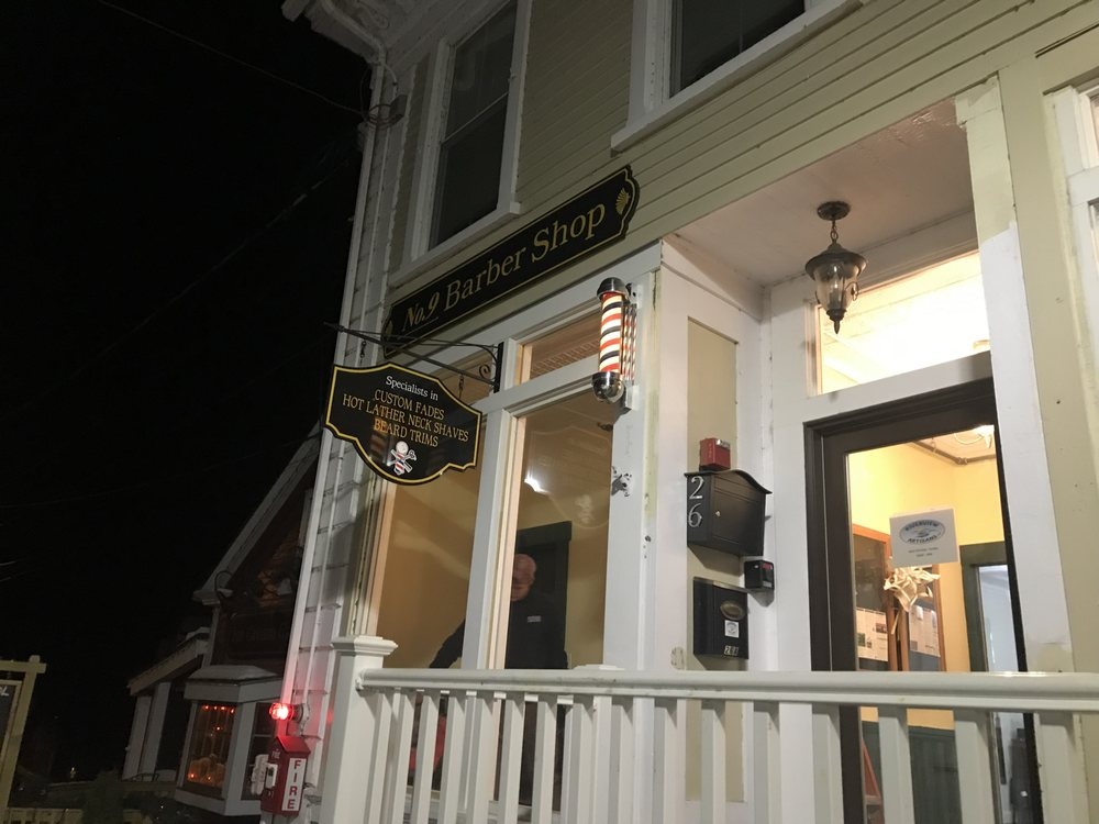 No.9 Barber Shop: 26 D Central Square, Bristol, NH