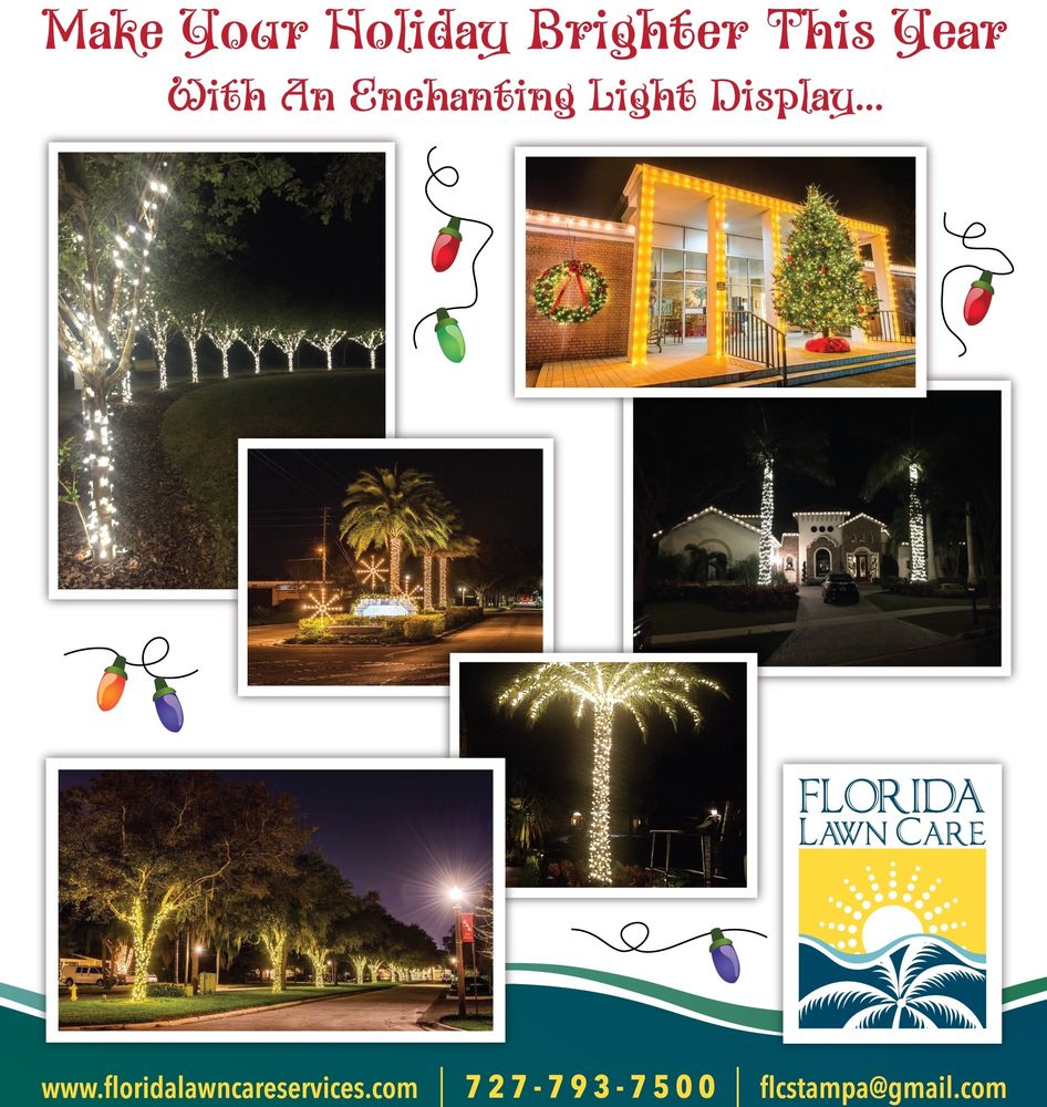 Florida Lawn Care Services and Holiday Lighting: Westchase, FL
