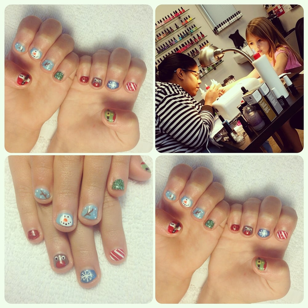 She Is Amazing Amazing Nail Art Very Clean Polite