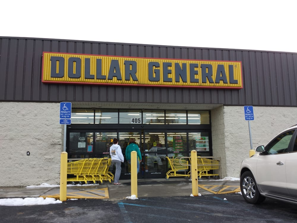 Dollar General Store: 107 3rd St, Grottoes, VA