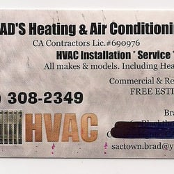Brad S Heating Amp Air Conditioning Heating Amp Air