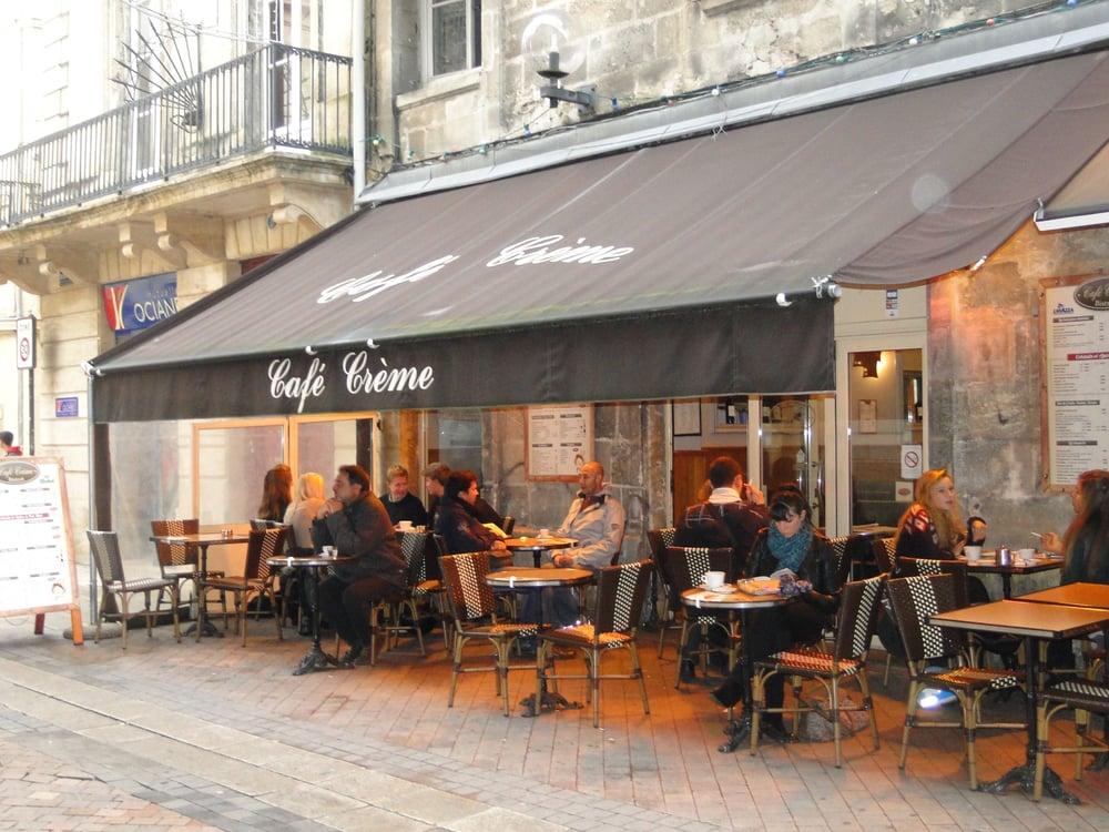 Caf cr me 13 reviews bistros 4 rue des remparts for Hotel rue lafaurie monbadon bordeaux