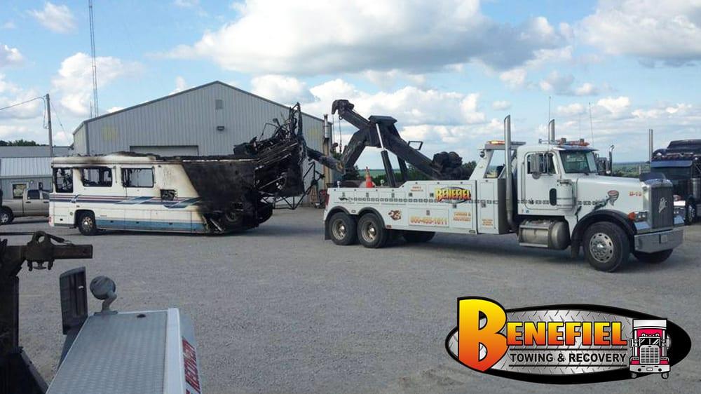 Benefiel Truck Repair & Towing: 2888 US Hwy 275, Hamburg, IA