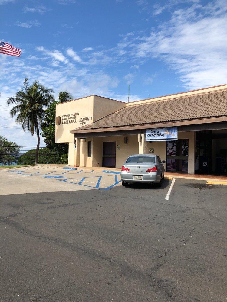 US Post Office: 1760 Honoapiilani Hwy, Lahaina, HI