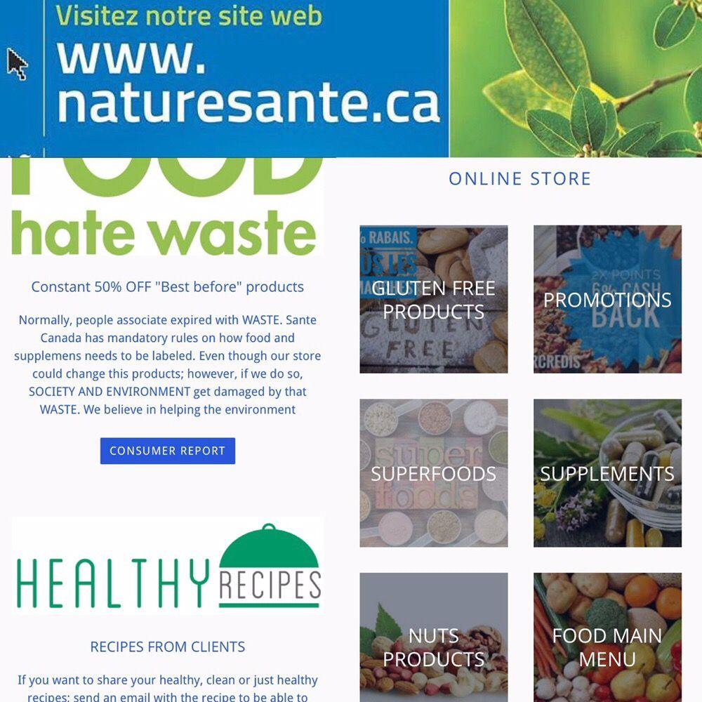 Nature Santé - 16 Photos - Health Food Store - 5006 Chemin Queen ...