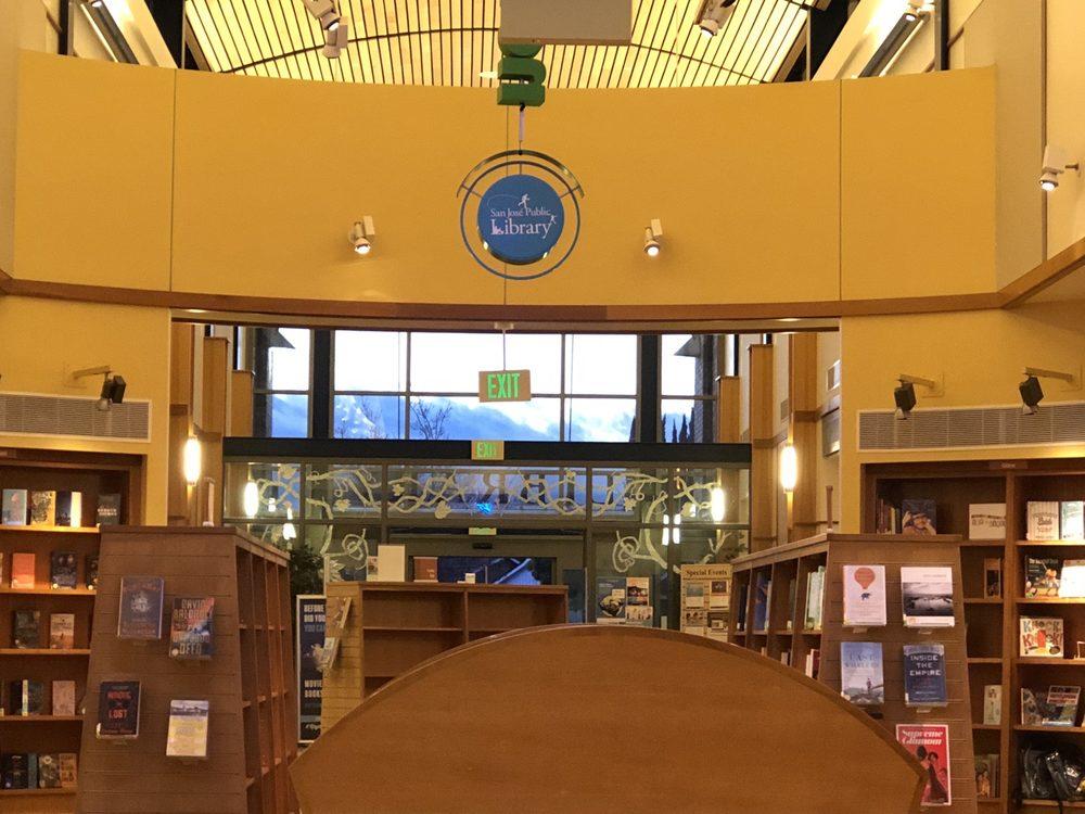 Vineland Branch Library: 1450 Blossom Hill Rd, San Jose, CA