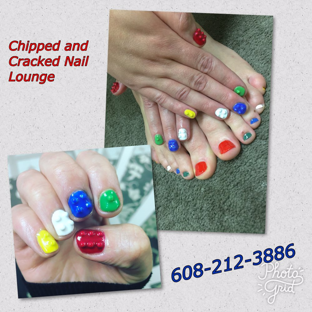 Chipped And Cracked Nail Lounge: 131 E James St, Columbus, WI