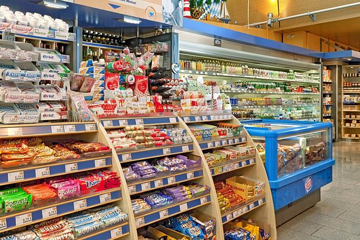 Convenience Store: Hauptbahnhof, Munich, BY
