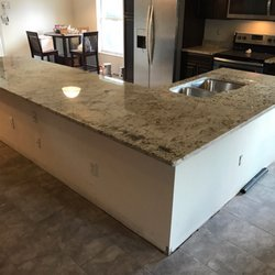 Photo Of All Wood Cabinets And Granite Countertops   Holly Hill, FL, United  States