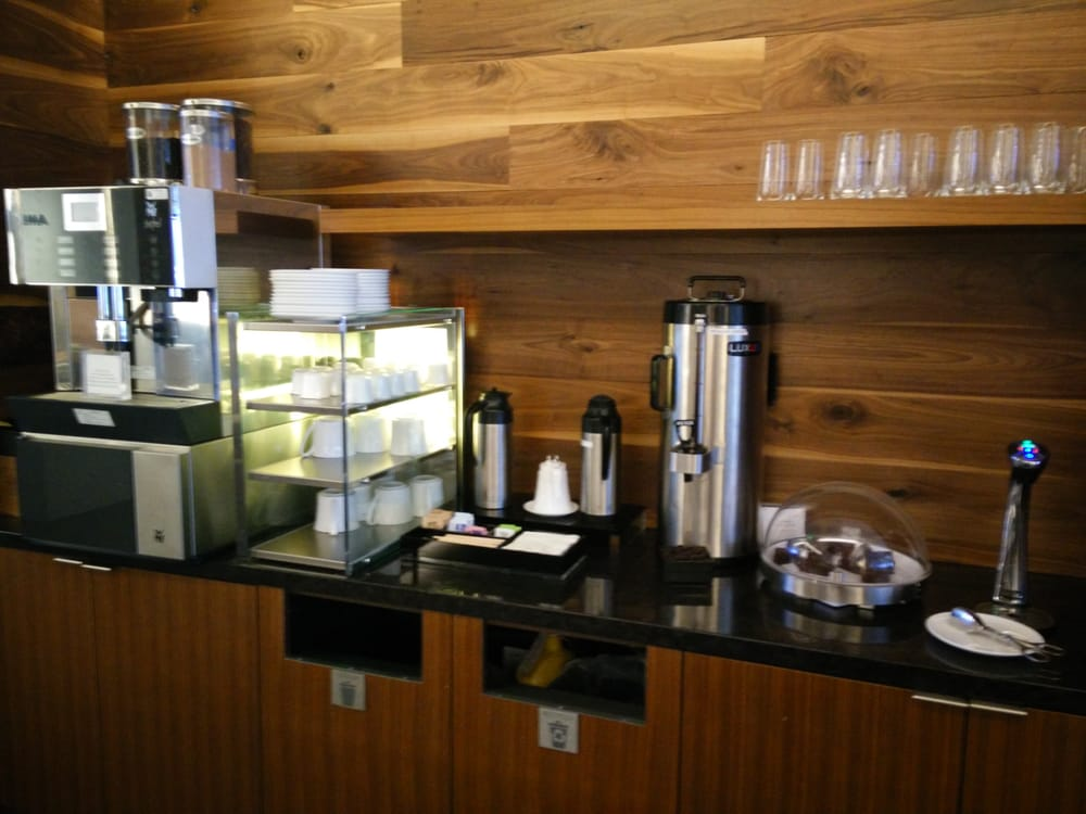 Self Service Coffee And Tea Bar Complete With Chocolate