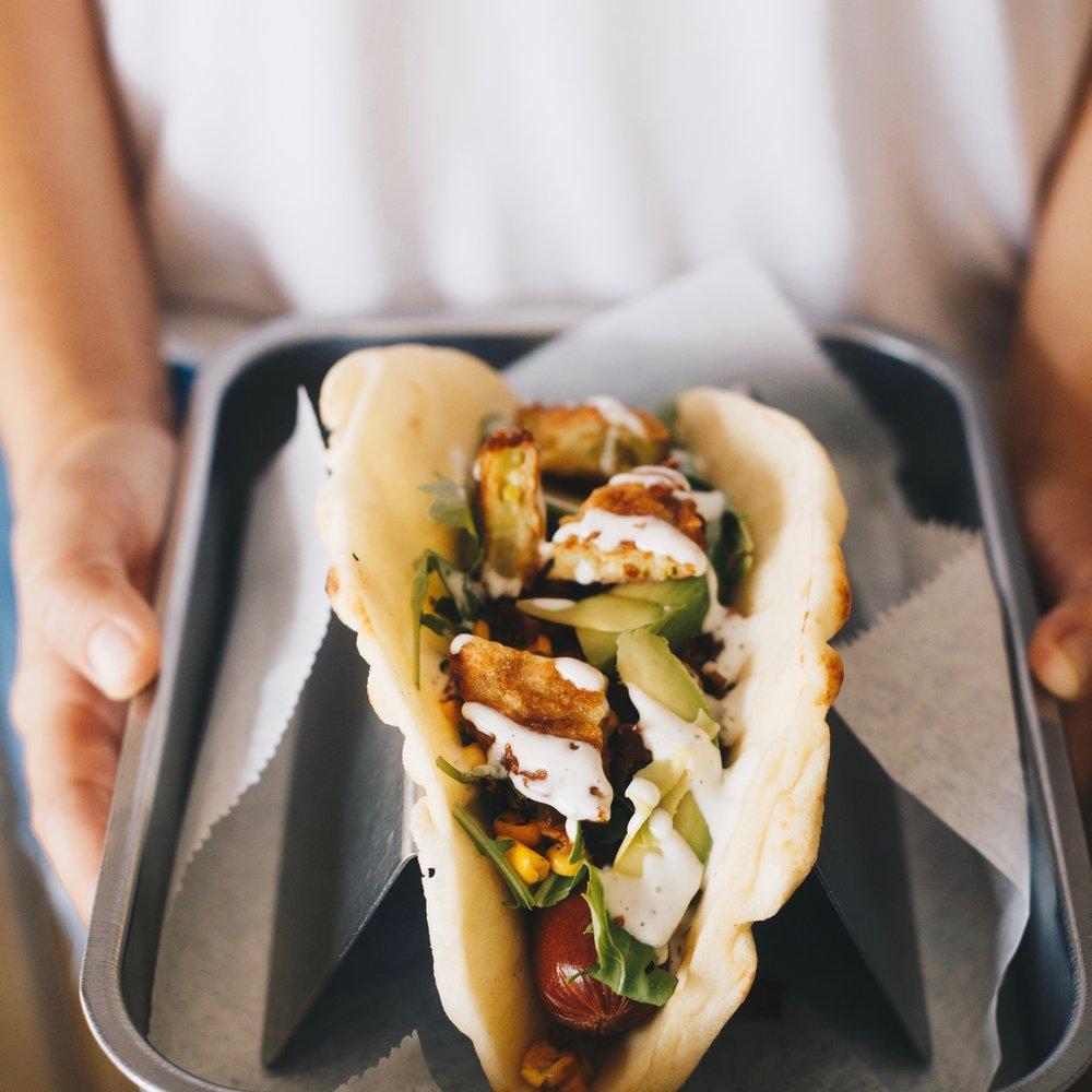 Social Spots from Short Leash Hotdogs & Rollover Doughnuts