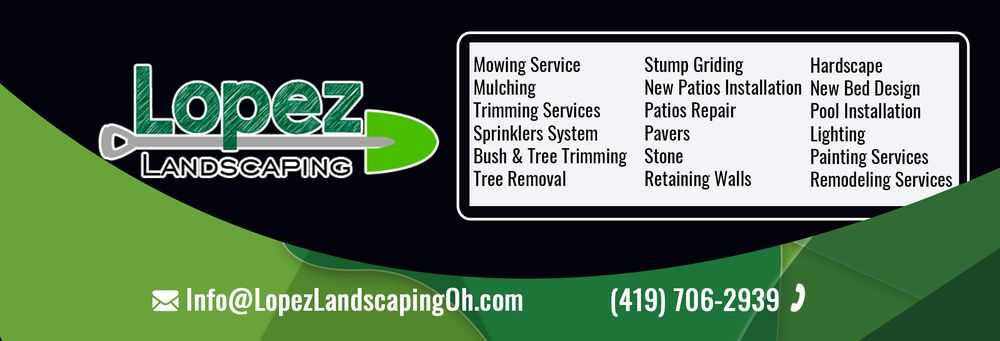 Lopez Landscaping: 2491 State Rt 103 E, Willard, OH