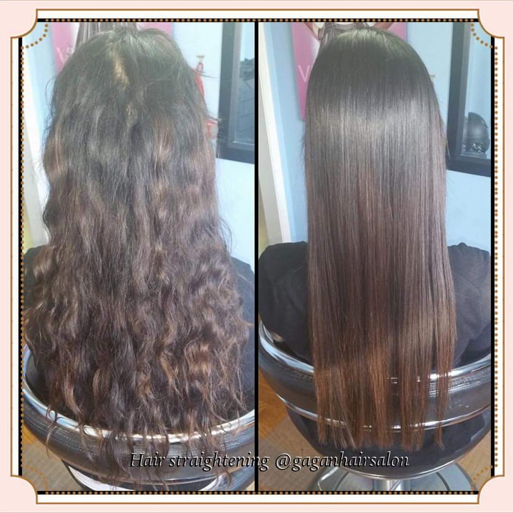 Permanent hair straightening ombre rebonding keratin treatment kenra smoothing all under one - Hair straightening salon treatments ...