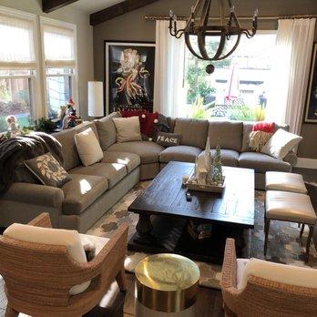 Beautiful Photo Of Bassett Furniture   San Jose, CA, United States. Grey Sectional In