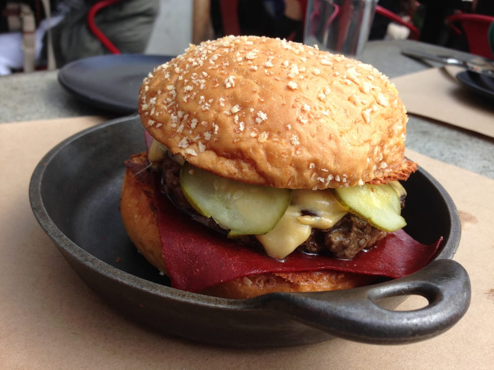 PCB (Plan Check Burger) / Americanized Dashi Cheese, Ketchup ...