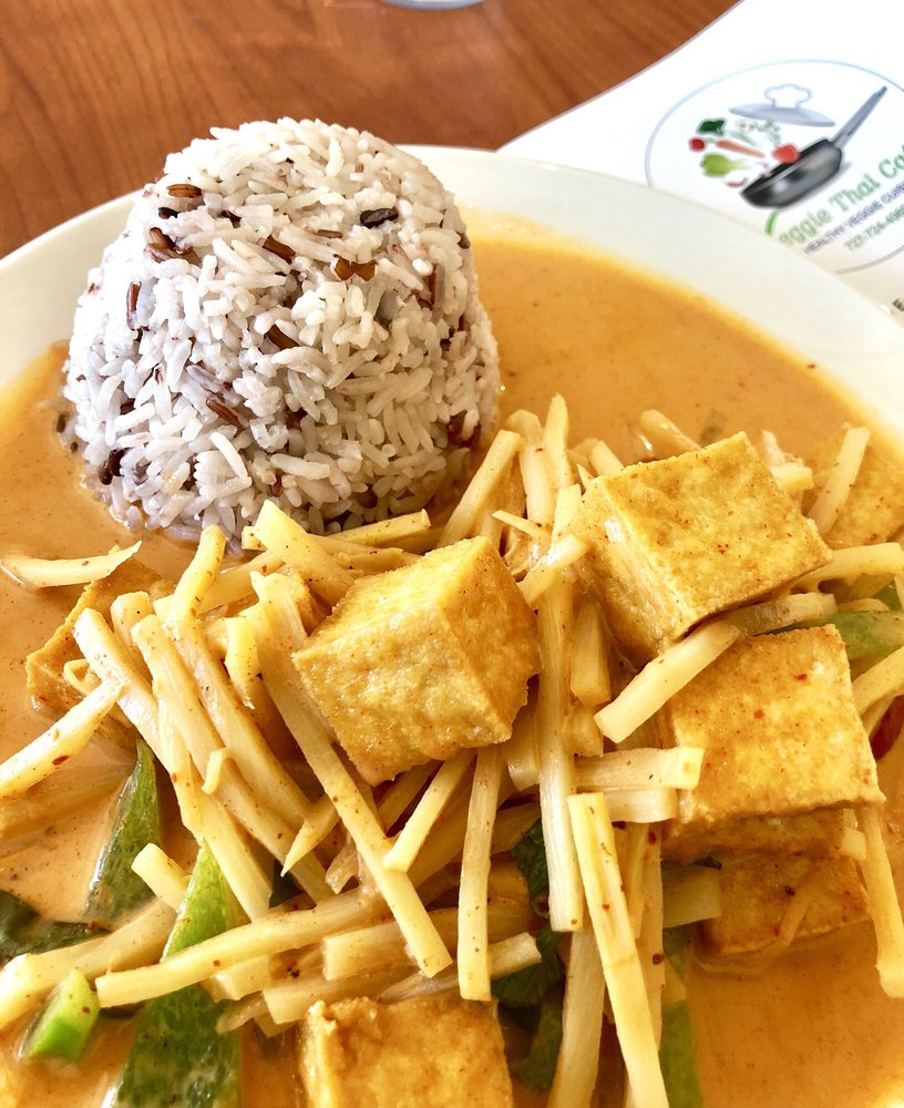 Veggie Thai Cafe: 3690 E Bay Dr, Largo, FL
