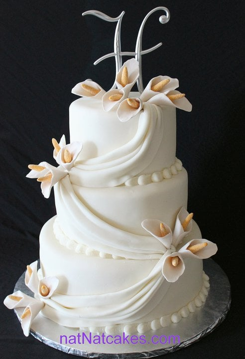 Simple Elegant Wedding Cake Yelp