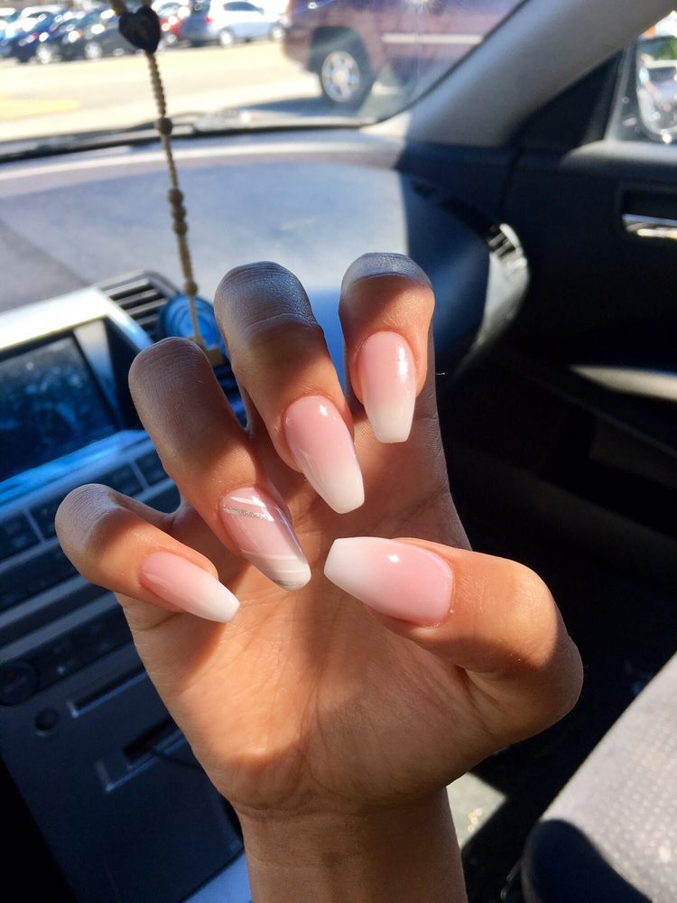 French ombré nails - Yelp