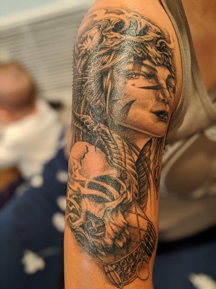 Blackbird Tattoo & Body Piercing: 721 E San Bernardino Rd, Covina, CA