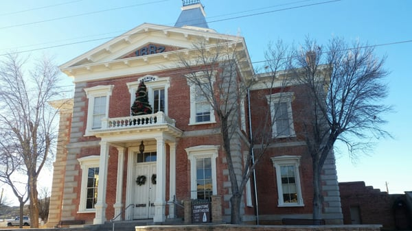 Tombstone Courthouse State Historical Park museum