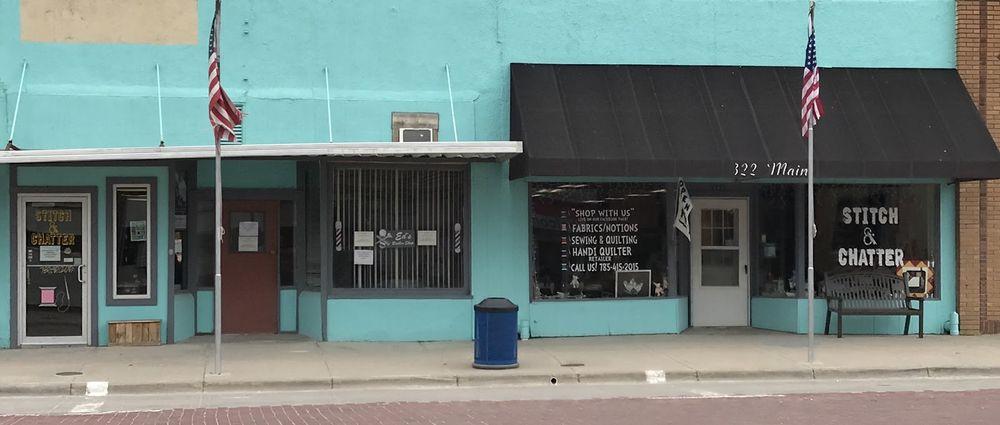 Stitch and Chatter: 320 Main St, Stockton, KS