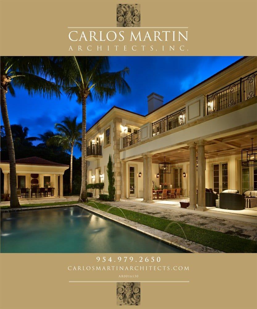 Carlos martin architects architekt 5100 w copans rd for Martin architects