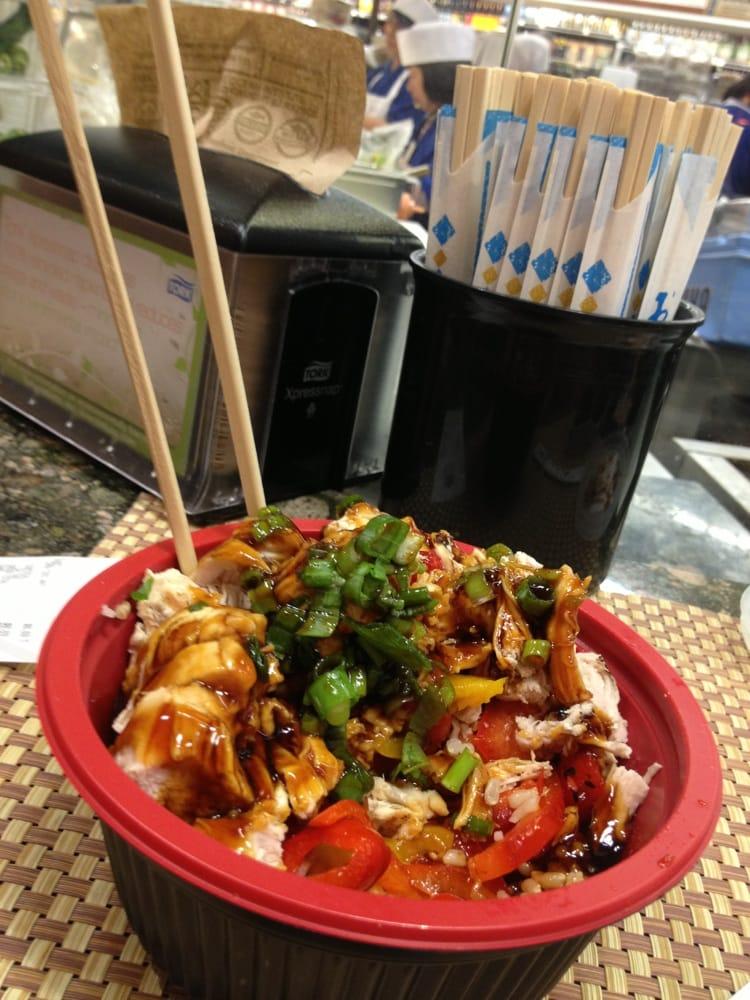Fresh Chicken Teriyaki Bowl Yelp