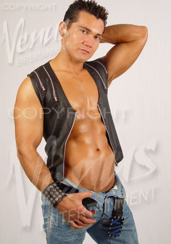 Very valuable Latino male strippers about