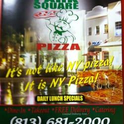 Park Square Pizza logo