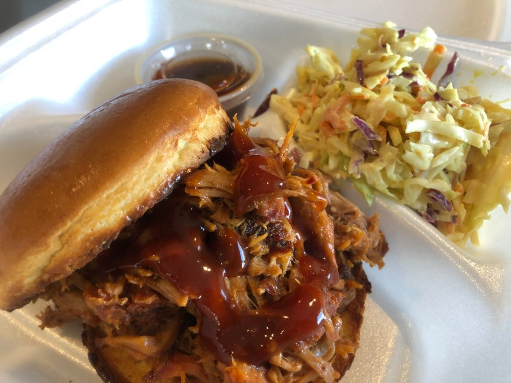 Food from Mackie's Southern Barbecue - Frederick