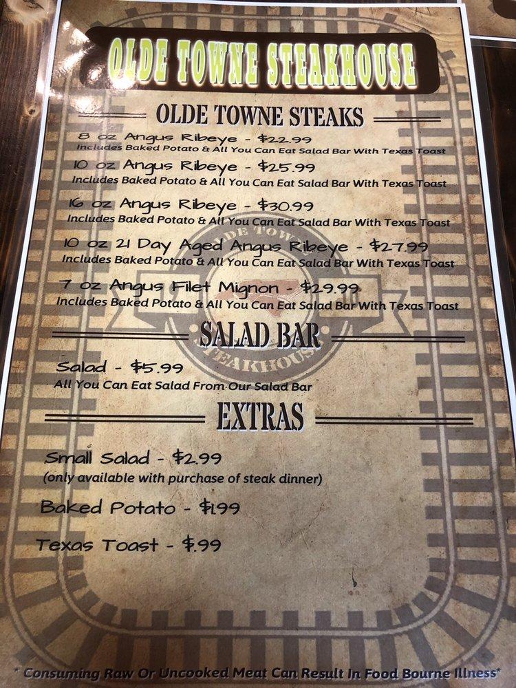 Olde Towne Steakhouse: 102 E Main St, Selma, NC