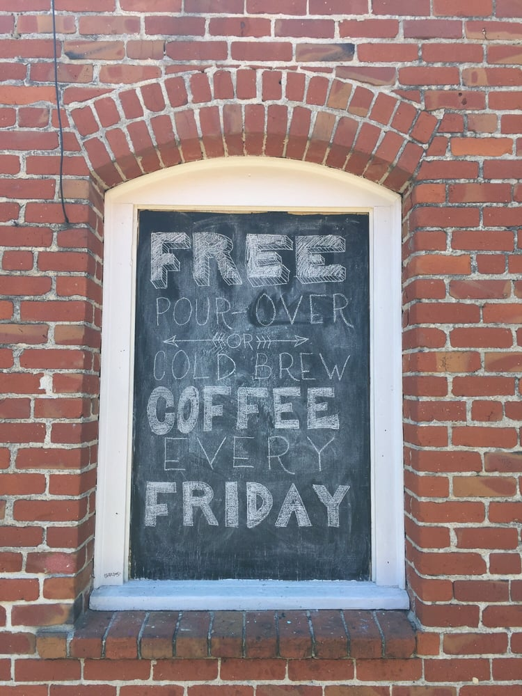 Free Coffee Friday Yelp