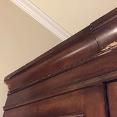 Photo Of Georgetown Moving And Storage   Arlington, VA, United States.  Damaged Armoire