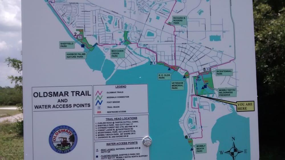 Oldsmar Florida Map.Oldsmar Trail Map Yelp