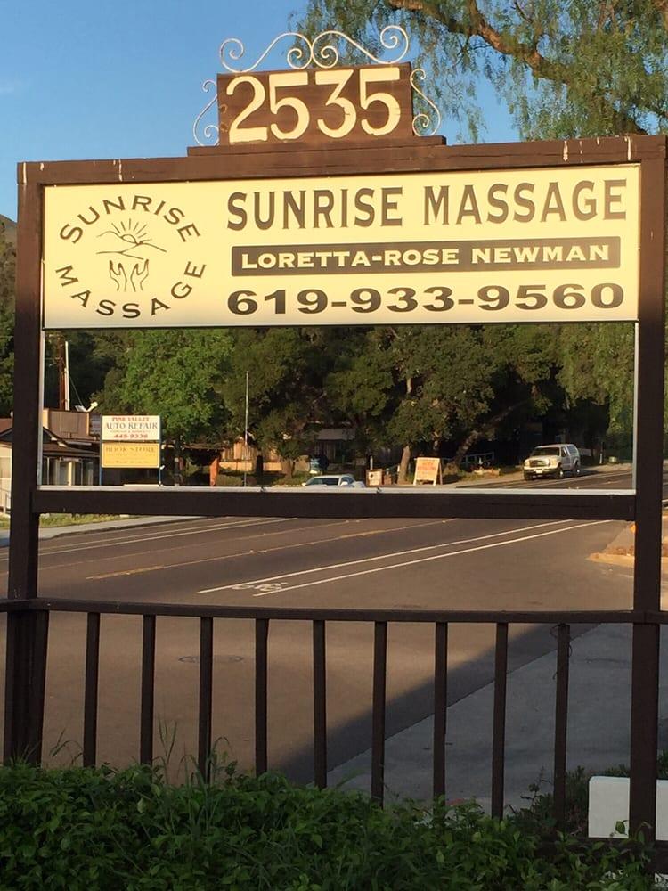 Sunrise Massage: 2535 Alpine Blvd, Alpine, CA