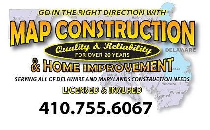 Map Construction and Home Improvement: Sassafras Rd, Warwick, MD