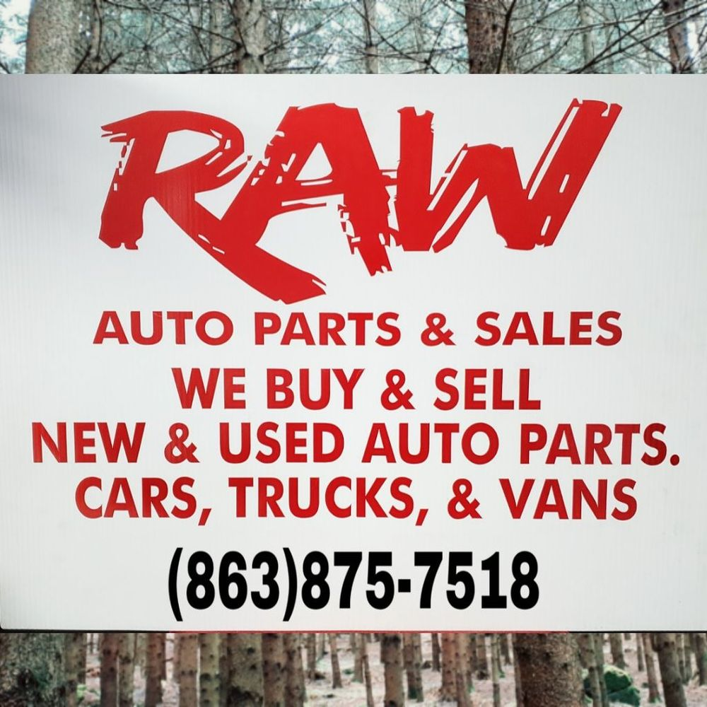 Raw Auto Parts: 805 Old Winter Haven Rd, Auburndale, FL