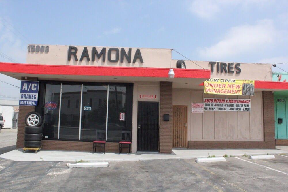 Ramona Tires: 15003 Ramona Blvd, Baldwin Park, CA