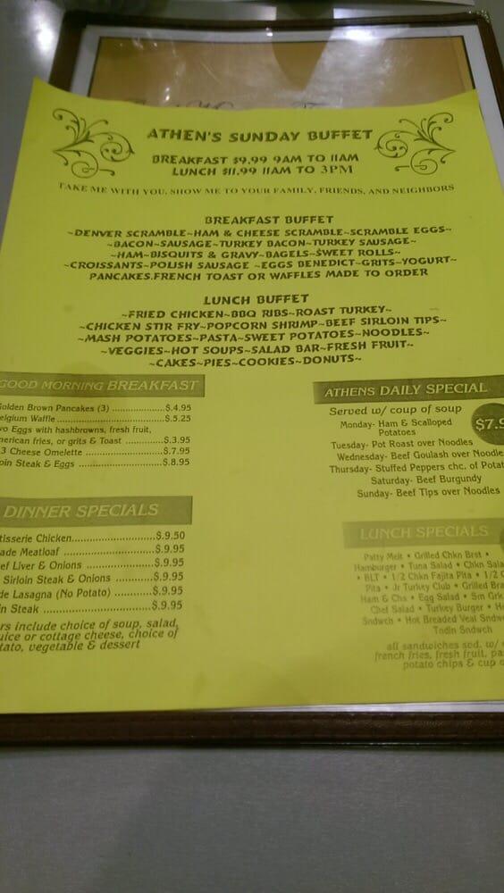 Athens Family Restaurant - 25 Photos & 36 Reviews - Greek