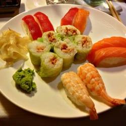 foto di ume milano italia il mio menu preferito sushi misto con