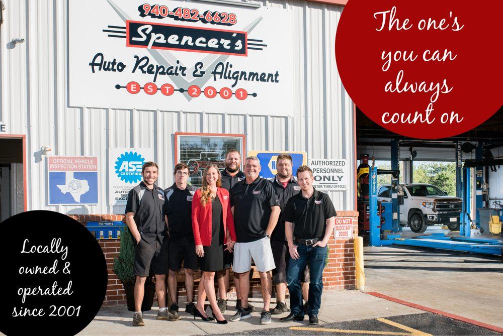 Spencer's Auto Repair: 103 W Lloyd St, Krum, TX