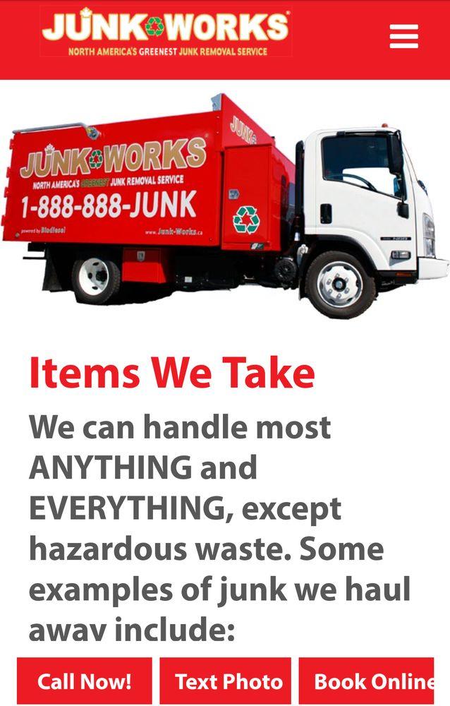 Junk Works - Junk Removal & Hauling - 5 Kodiak Crescent, North York ...