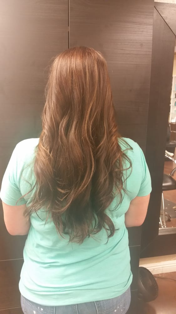 Gorgeous Mocha Hair Color With Dimension Pieces Of Warm Golden