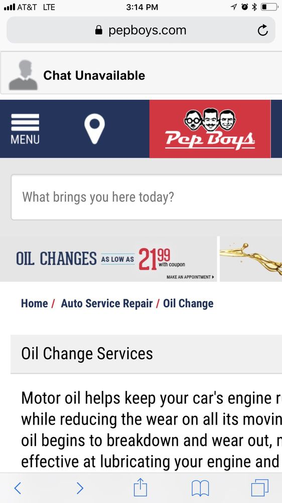 28 Photos For Pep Boys